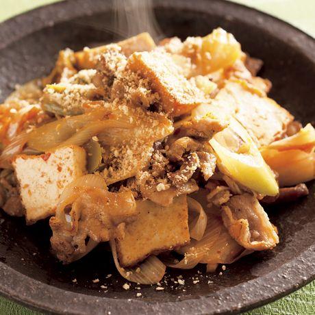 厚揚げ豚キムチ | 沼口ゆきさんの炒めものの料理レシピ | プロの簡単料理レシピはレタスクラブニュース