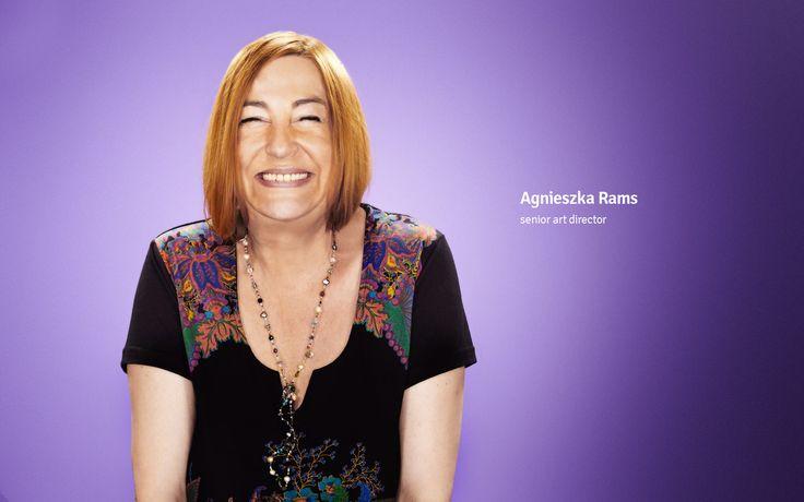 Agnieszka Rams senior art director