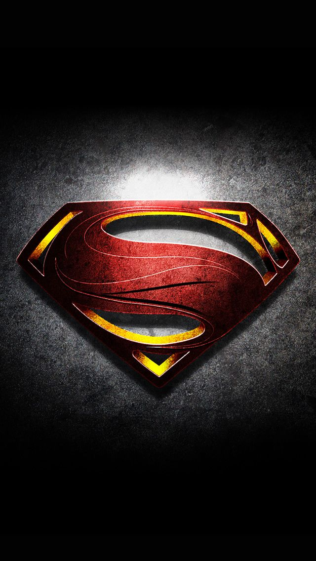 Cool iPhone 5 Wallpapers Superman Logo is be the best of
