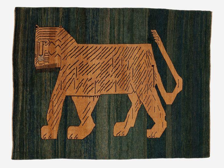 Perzisch tapijt: Wand- en vloerkleed Nummer: 90218 |