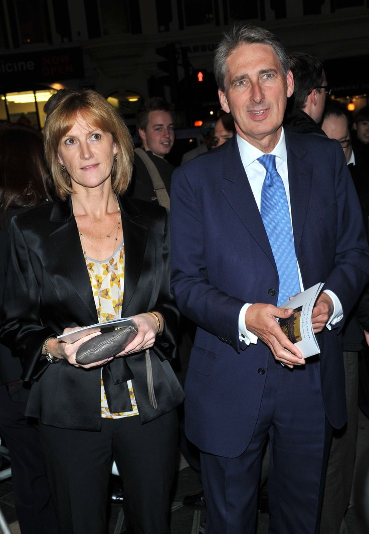 Guest and Philip Hammond. Gala night of stage version of 'Yes, Prime Minister' held at the Gielgud Theatre - Arrivals.. London, England - 27.09.10   Hollywood.com