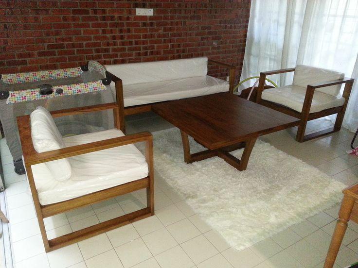 modern wood sofa furniture. teak wood home furniture wicker and outdoor store indoor custom made teakwood kl malaysia modern sofa