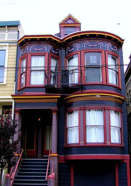 San Francisco Victorian Flickr Photo Sharing Houses