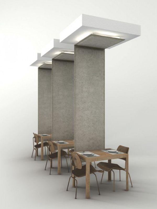 Felt Room Divider BUZZIWINGS By Buzzispace.