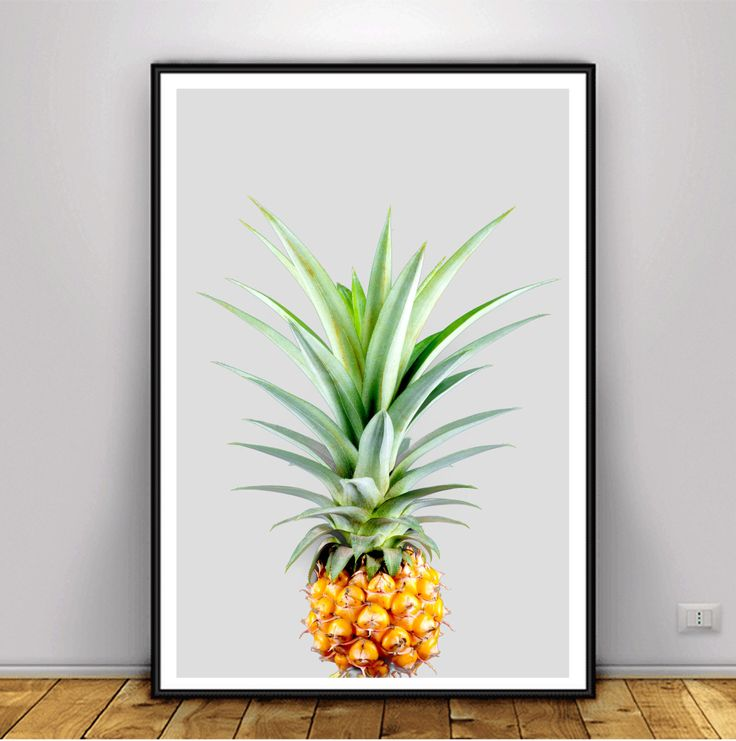 A personal favorite from my Etsy shop https://www.etsy.com/ca/listing/486615770/pineapple-print-tropical-decor-tropical