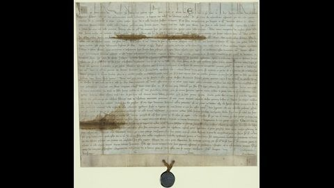 View 'The Papal Bull Annulling Magna Carta', a manuscript on the British Library's Magna Carta website.