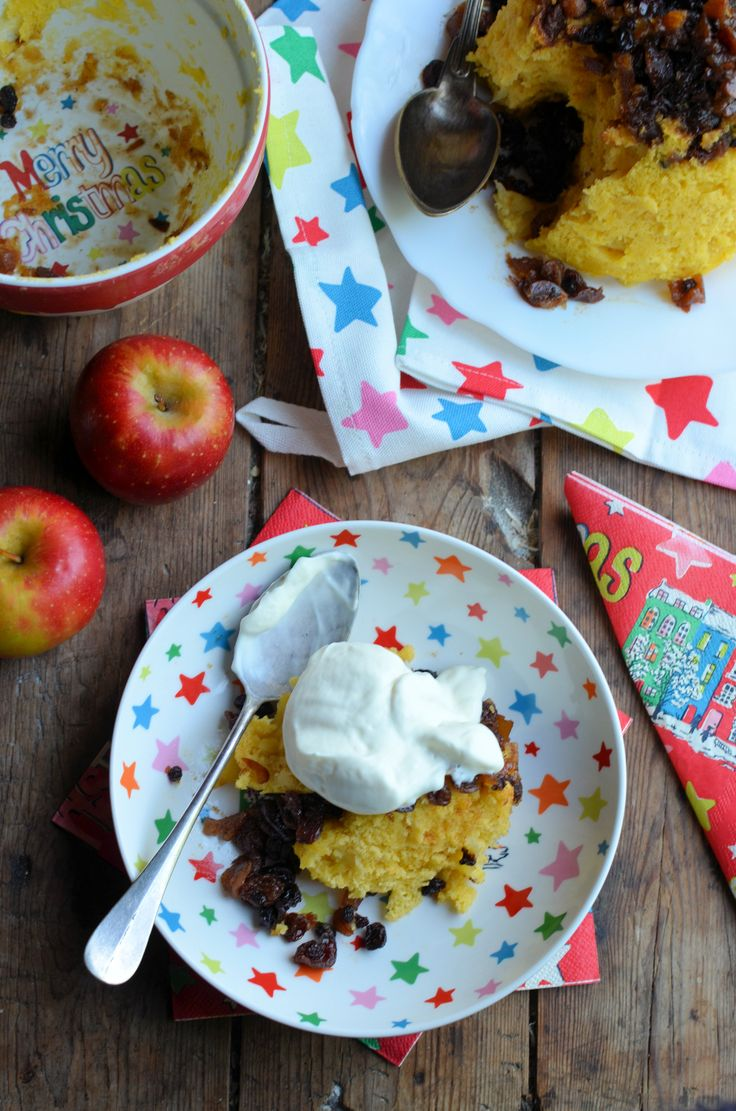 Easy Apple & Mincemeat pudding by Karen Burns-Booth | Festive Baking ...