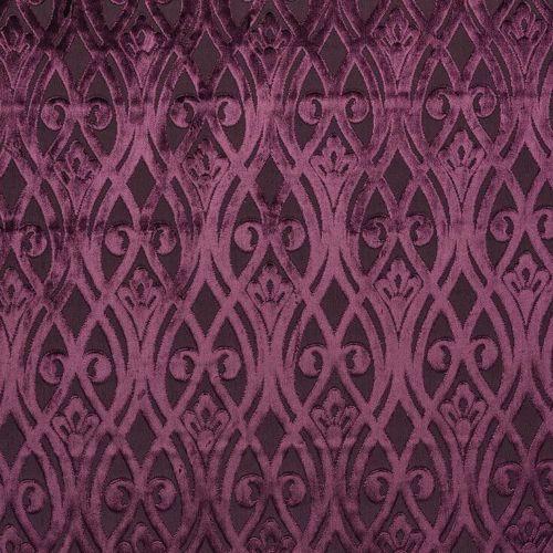 Fibre-Naturelle-Venezien-Sofia-Staerke-Samt-Vorhang-Polster-Stoff-11-Farben