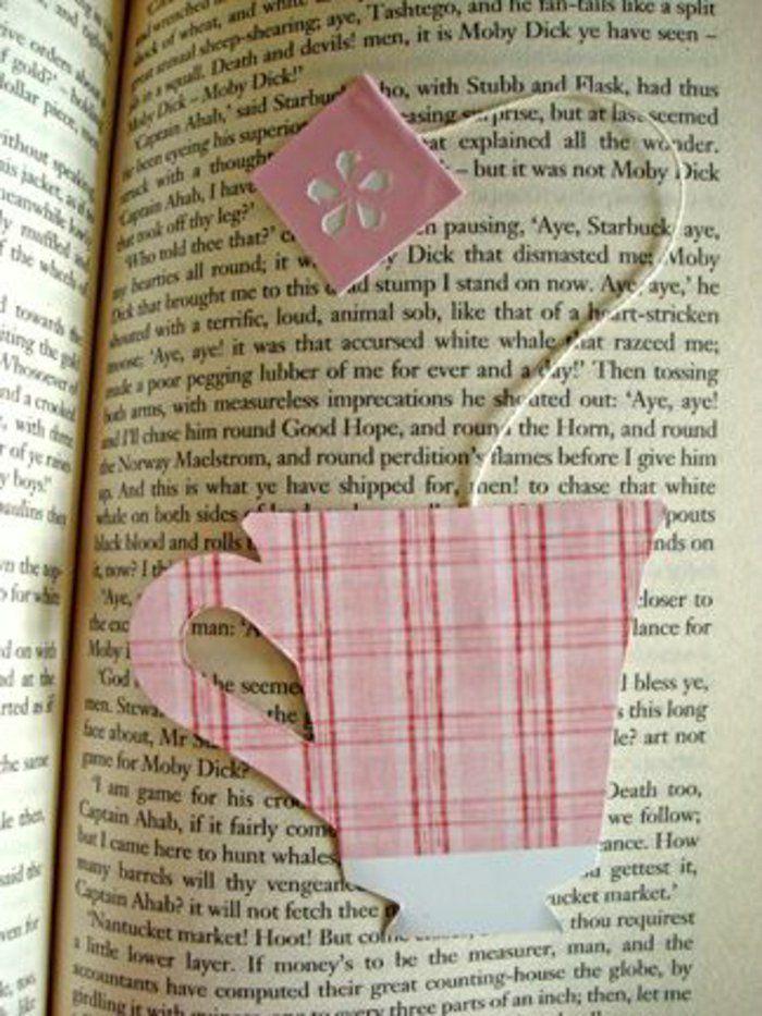 fabriquer un marque-page en forme de tasse du thé                                                                                                                                                                                 Plus