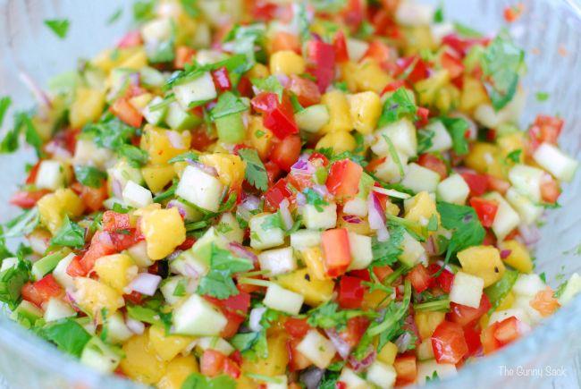 Apple Mango Salsa Recipe