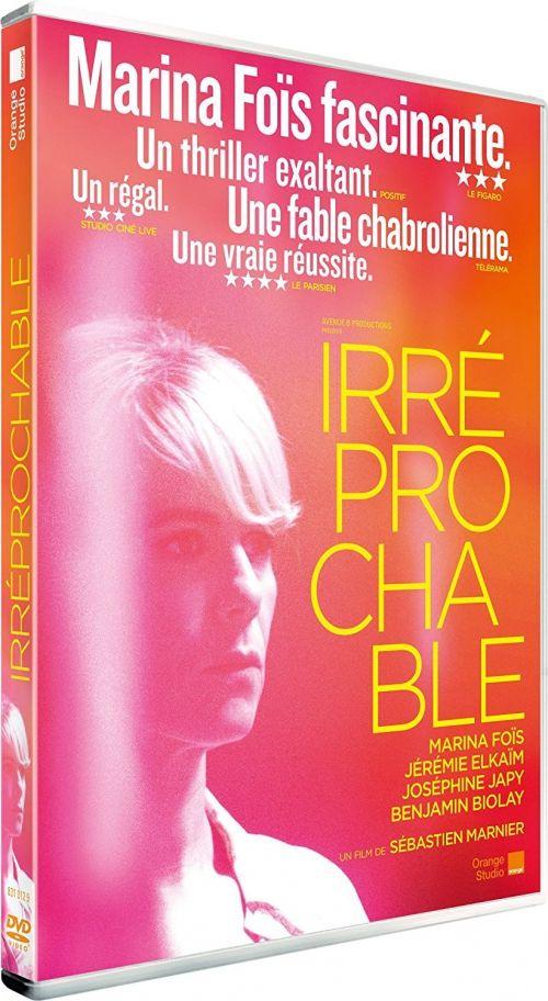 """Un rôle en or pour Marina Foïs #Irréprochable #orangeStudio  DVD : """"Irréprochable"""" ou la folie face à l'emploi ..."""