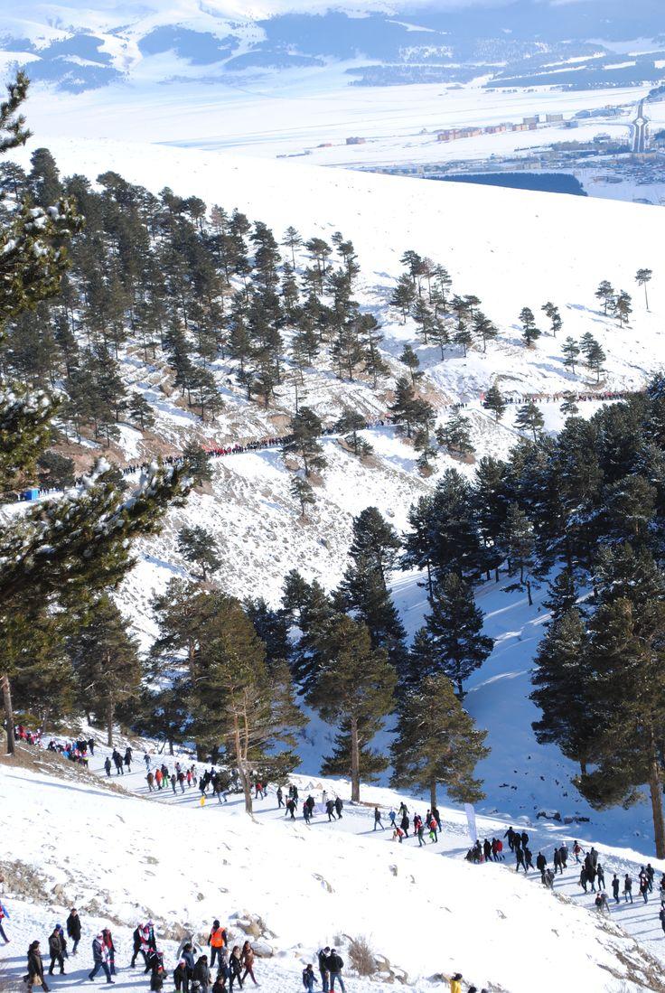 Sarıkamış Şehitleri'ni Anma Etkinliği'nden   #allahuekberdağları #sarıkamış #kars