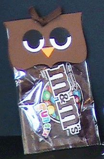 owl halloween treat add a hat - Halloween Fundraiser Ideas
