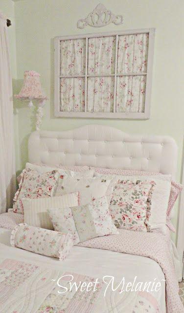 roze en groene kamer ~Sweet Melanie~ Shabby Chic Style & Inspiration ♥ #shabbychic