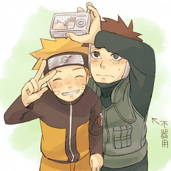 Yamato and Naruto -selfie #naruto #yamato