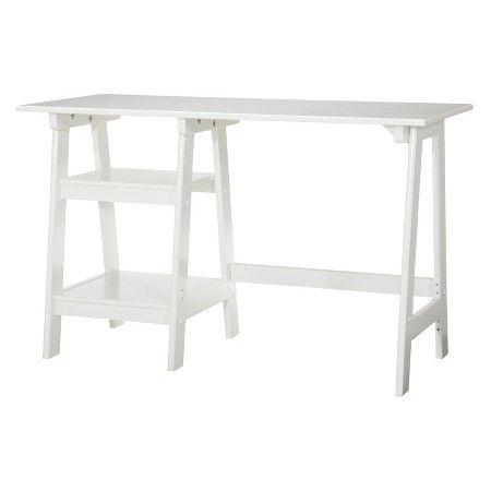 Braxton Trestle Desk - Convenience Concepts : Target $60 clearance