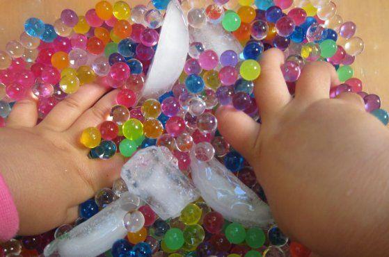 NUEVO juego sensorial: Perlas de agua | Blog de BabyCenter