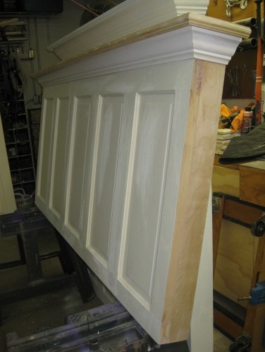 Make a headboard from a door. I love this idea and really want to make one myself.