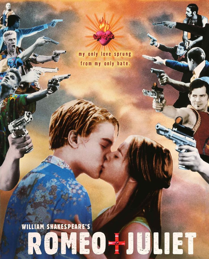 "Film: Romeo and Juliet (1996) Year poster printed: 1996 Country: USA Size: 27""x 40"" ""The greatest love story the world has ever known."" This is an original one-sheet movie poster from 1996 for Romeo a"