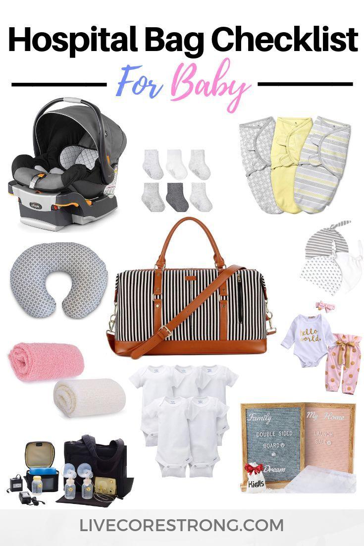 Suchen Sie nach der ultimativen Packliste für Krankenhaustaschen für Ihr neugeborenes Baby, während Sie …   – Hospital Bag Checklist Ideas #hospitalbag