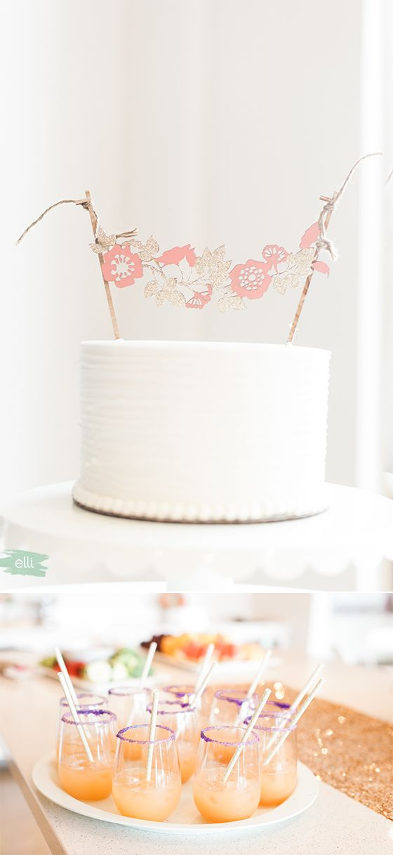 Luau Themed Bridal Shower | Photos by Christa-Taylor Photography