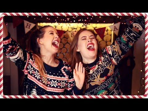 Christmas Song Challenge with Tanya   Zoella - YouTube
