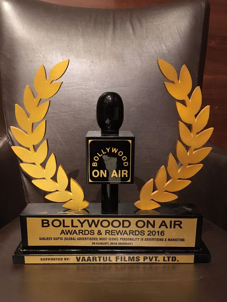 Our MD Mr. Lion Sanjeev Gupta won Bollywood on Air Awards & Rewards 2016 for Most iconic personality in Advertising & Marketing.