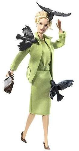 "Alfred Hitchcock's The Birds Barbie Doll? ""Barbie Collector, Halloween Costumes, Movie, Alfredhitchcock, Alfred Hitchcock, Tippi Hedren, Birds Barbie, Barbie Dolls, Tippihedren"