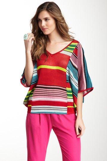 Knit Poncho Top