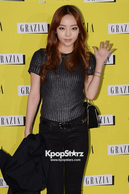 Kara's Goo Ha Ra attends Italy Fashion Magazine 'GRAZIA' Launching Party