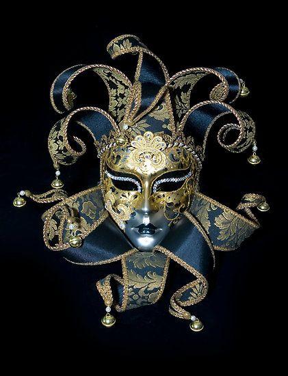 Venetian Masquerade Masks | Venetian mask by Dmitry Rostovtsev