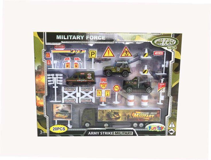 Набор военной техники 44414 Fun Toy  Купить недорого можно в магазине детских игрушек Головастик  #сюжетноролевыеигры #набортехники #головастик #магазиндетскихигрушек