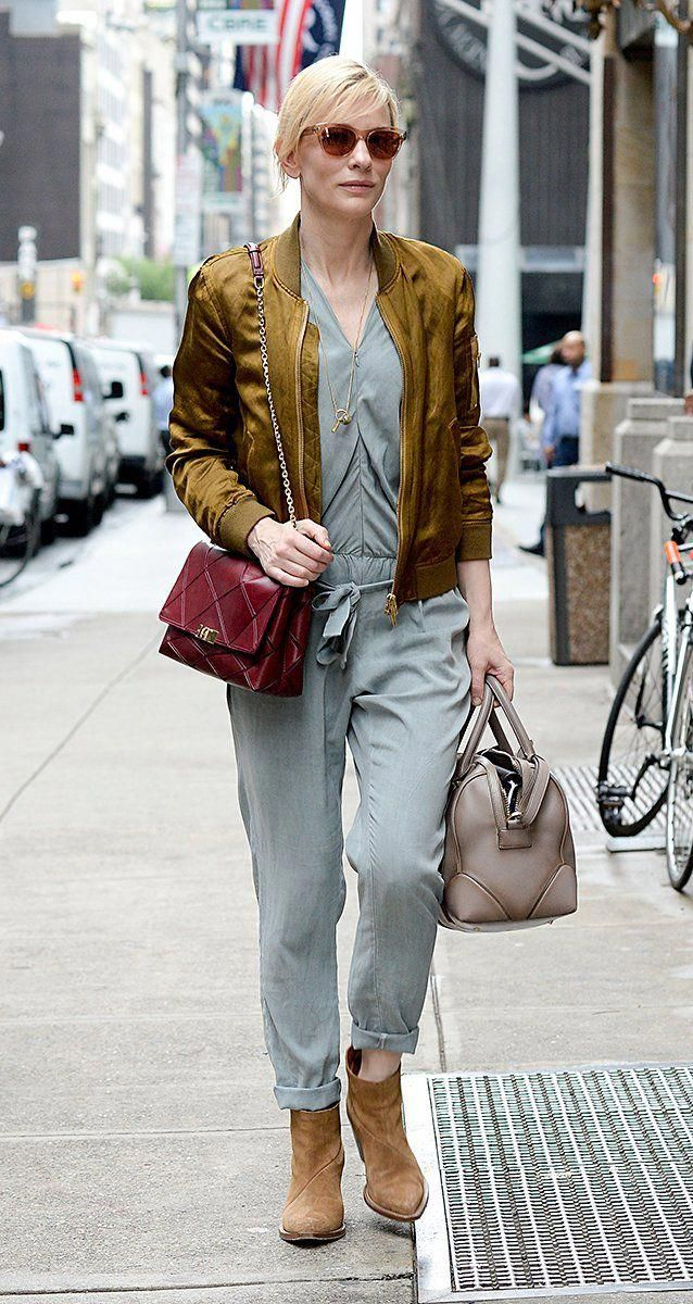 9c6f4aba33 Who  Cate Blanchett What  Roger Vivier bag