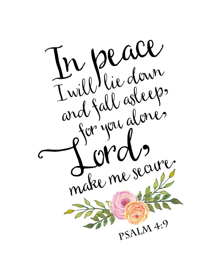 psalm 4 free printable .jpg | Powered By Box