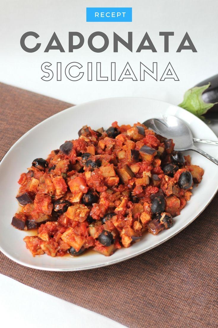 Recept   Caponata Siciliana - Salade met tonijn