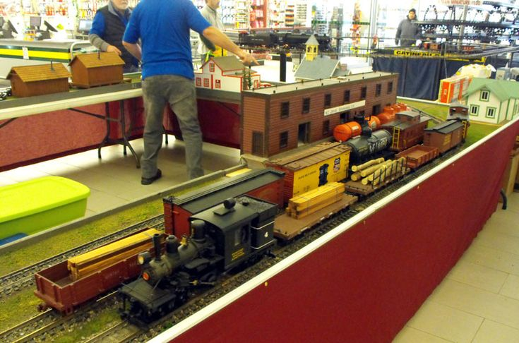 G Scale modular layout!