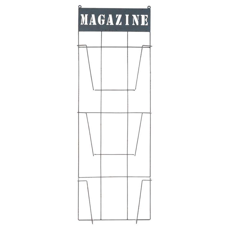 Les 25 meilleures id es de la cat gorie porte revue mural sur pinterest organiser notes - Porte revue mural metal ...