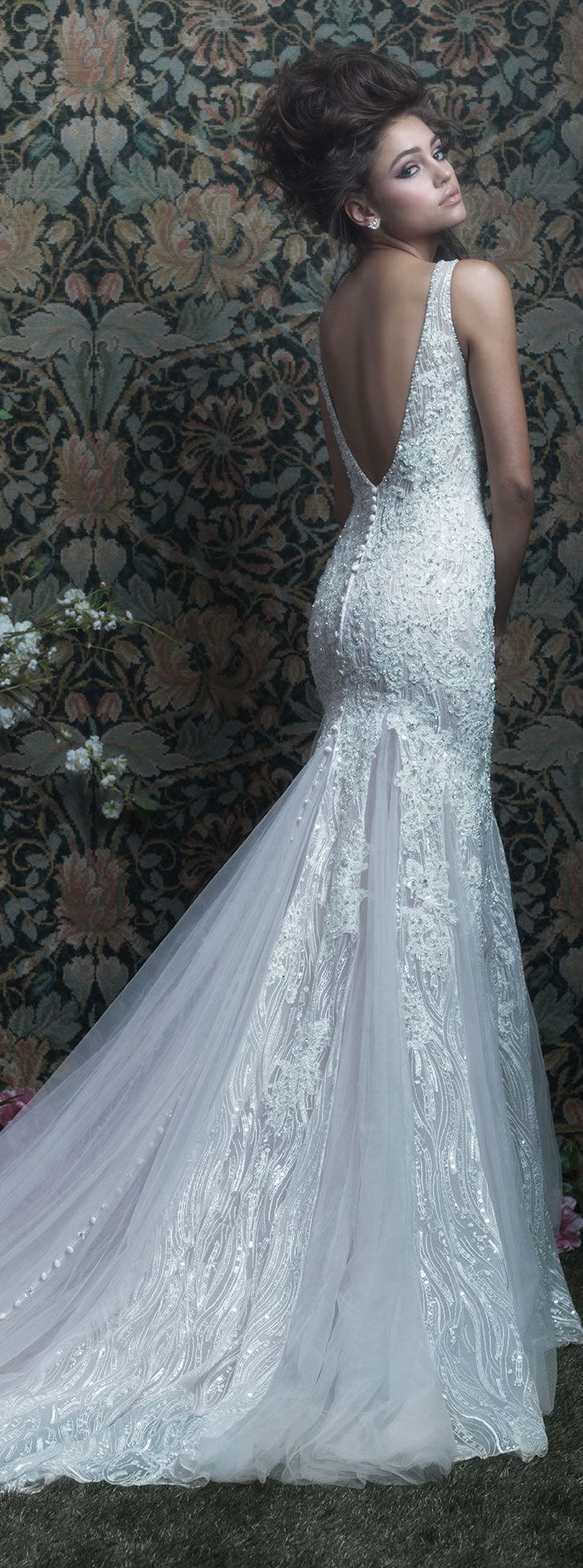 Wedding Dress by Allure Couture 2017 | @allurebridals