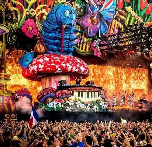 Beyond Wonderland festival in San Bernardino, California