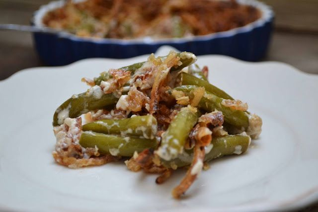 Bakeaholic Mama: Bacon And Green Bean Casserole... Forget The Canned Soup Recipe. A Thanksgiving MUST!