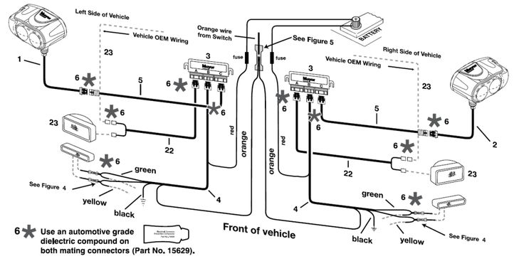 meyer snow plow parts diagram on western snow plow wiring diagram