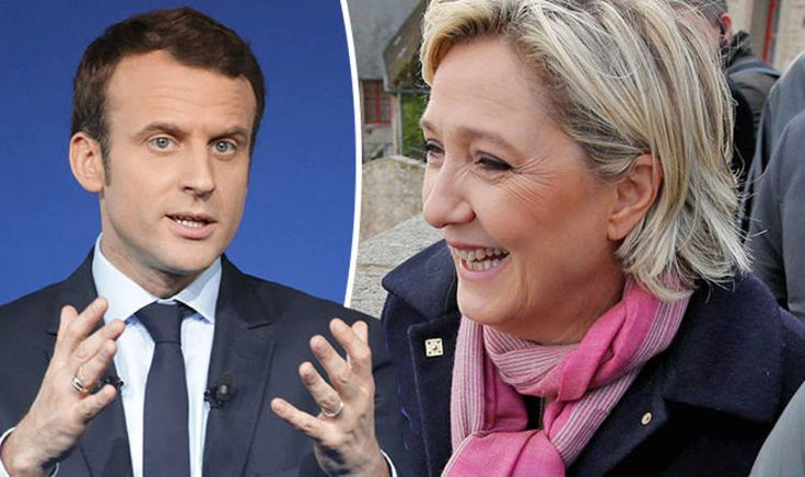MARINE Le Pen has experienced a surge of support in the latest French Presidential election polls.