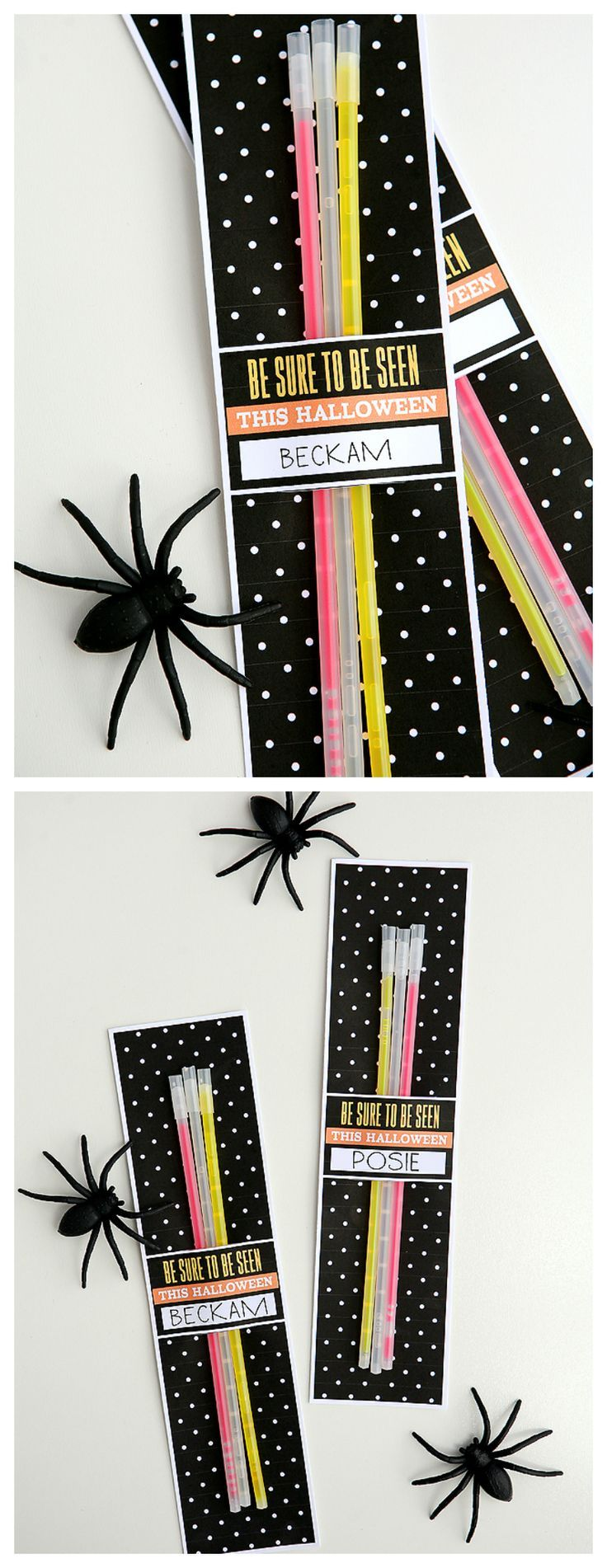 Be Sure To Be Seen This Halloween | Fun Halloween Favors