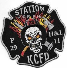 Kansas City Fire Department Pumper - 29 Hook & Ladder - 11