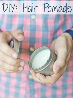 Ready for a Guy DIY? Make dad his own customized hair pomade for Father's Day #hair #DIYbeauty