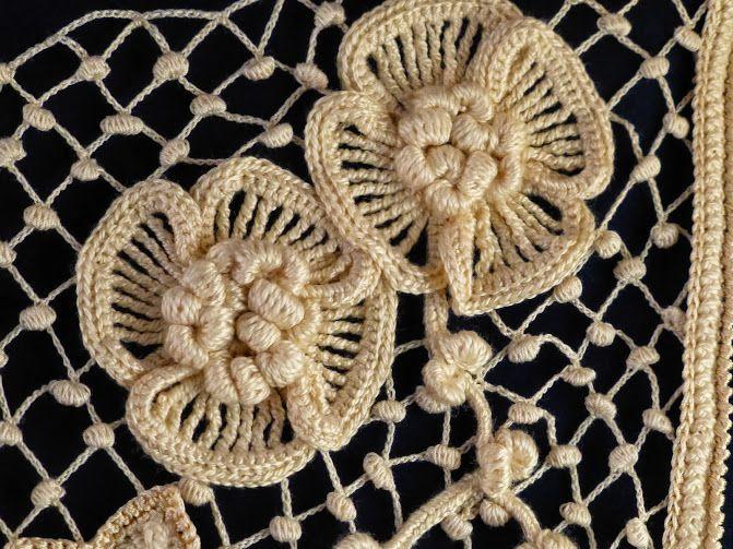Lab Crochet irlandés