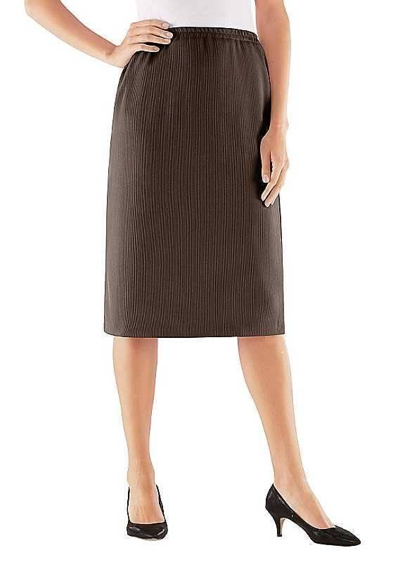 b74b7b5037 Stehmann Straight Knee Length Skirt Mocha Size UK 12P DH084 KK 10 #fashion # clothing #shoes #accessories #womensclothing #skirts (ebay link)