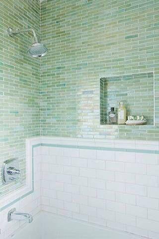 32 reasons why green tile is trending subway tile bathroomsbathrooms decorbathroom