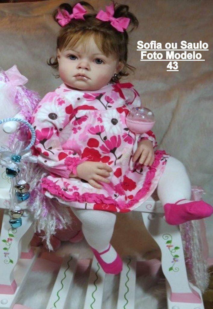 Boneca Bebê Reborn Sofia ou Saulo um ano | Ateliê Denise Reborn | Elo7
