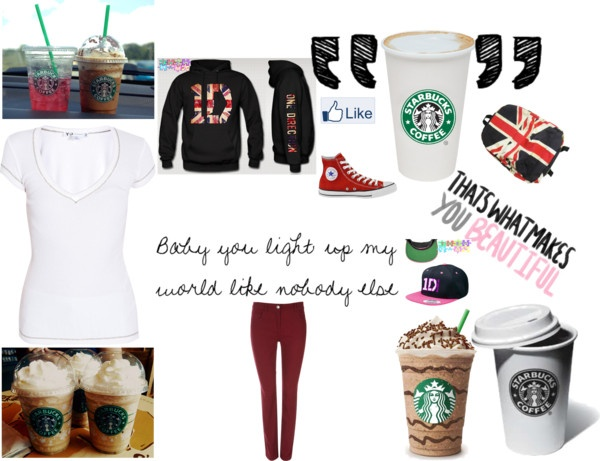 """roupa para o show do one direction"" by adamigyovanna ❤ liked on Polyvore"